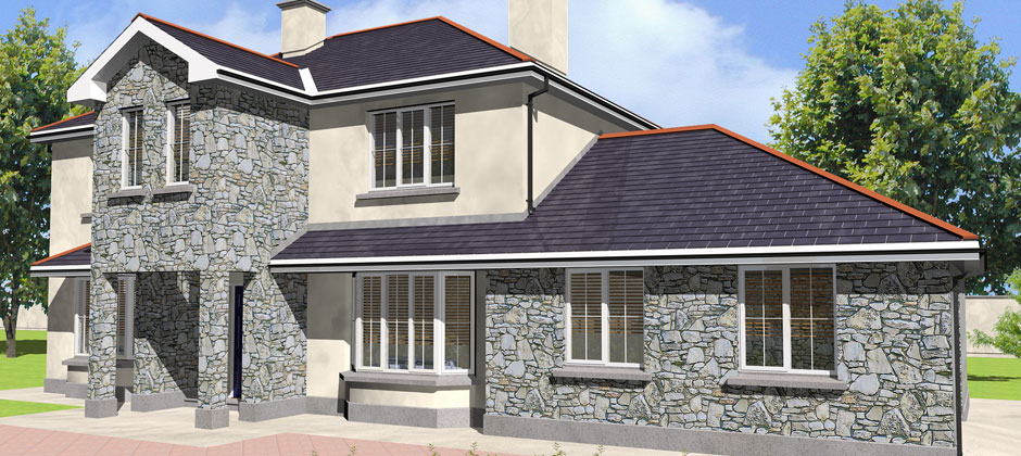 House plans by blueprint homeplans architecturally design for Irish house plans